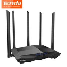 Tenda AC11 1200Mbps Dual band Wifi Router 2.4G/5G Wifi Repeater 1 WAN+3 LAN Gigabit Ports 5*6 dbi Antenna Extender 1GHz CPU
