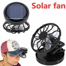 2019 New Fashion Gadget Clip-on Hat Mini Clip Solar Sun Energy Power Panel Cell Cooling Usb Fan Cooler Mini Fan Free Shipping