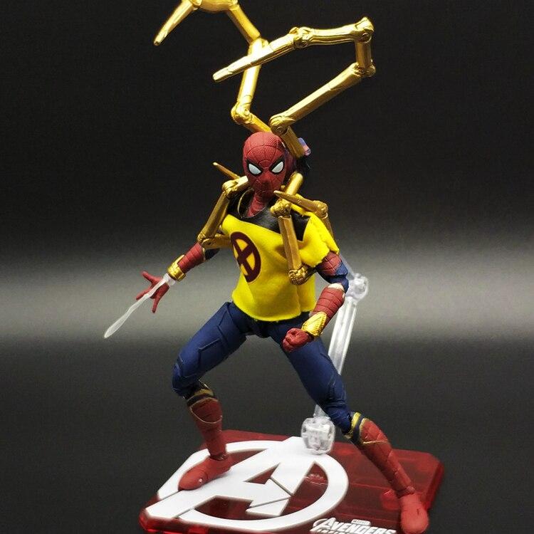 Spiderman&s Hand Run Heroes Yamaguchi Venom Iron Man Model Doll Marvel Toys Birthday Gift массажная подушка yamaguchi axiom matrix s