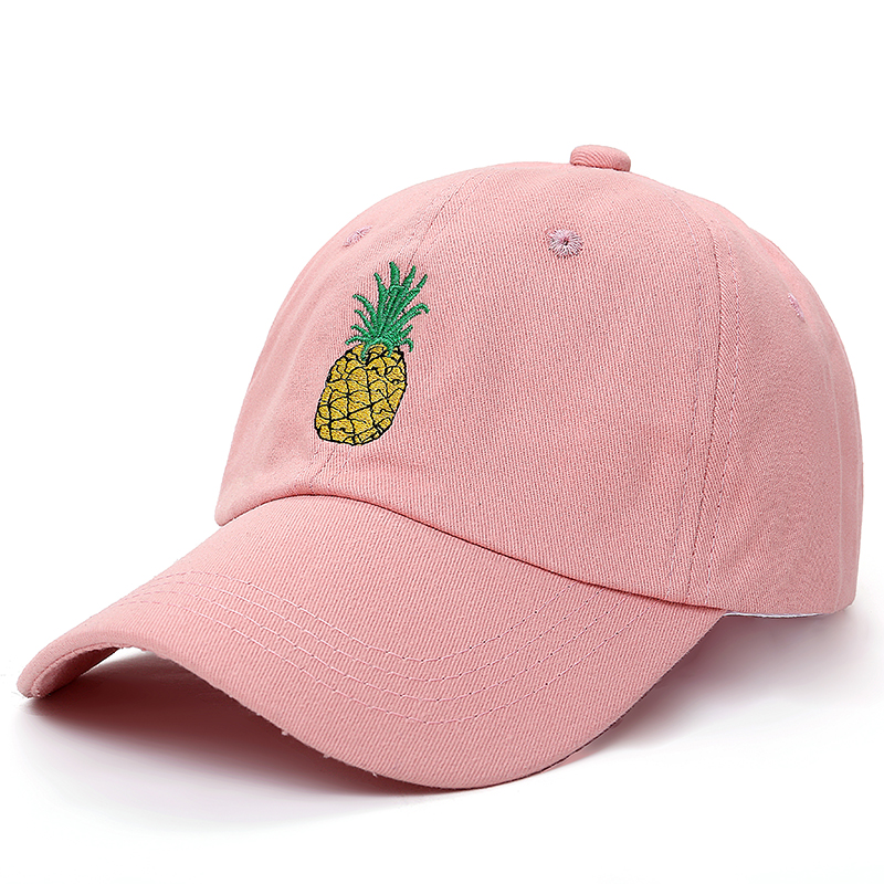 VORON new Pineapple Embroidered Baseball Cap Funny Fresh Fruit Hipster Hat Pineapple Dad Hat Baseball Cap