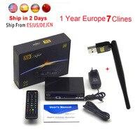 Satellite Receivers Tv Receptor Freesat V8 Super FTA DVB S2 Support Biss Key Newcam 3G IPTV