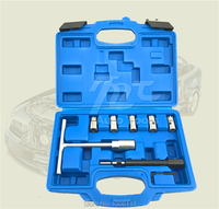 7PCS Diesel Injector Seat Cutter Cleaner Tool Set To Clean Re cutting The Injector Seat of Modern Common Rail Diesel Engines
