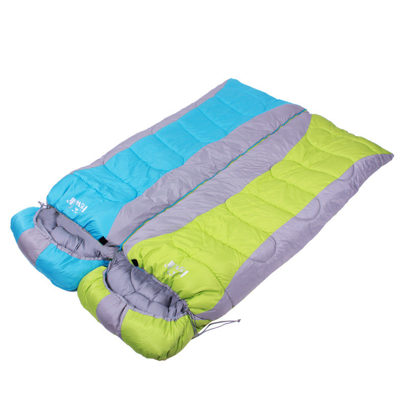Outdoor camping adult Single Sleeping bag waterproof keep warm thre seasons spring summer winter sleeping bag for Camping Travel