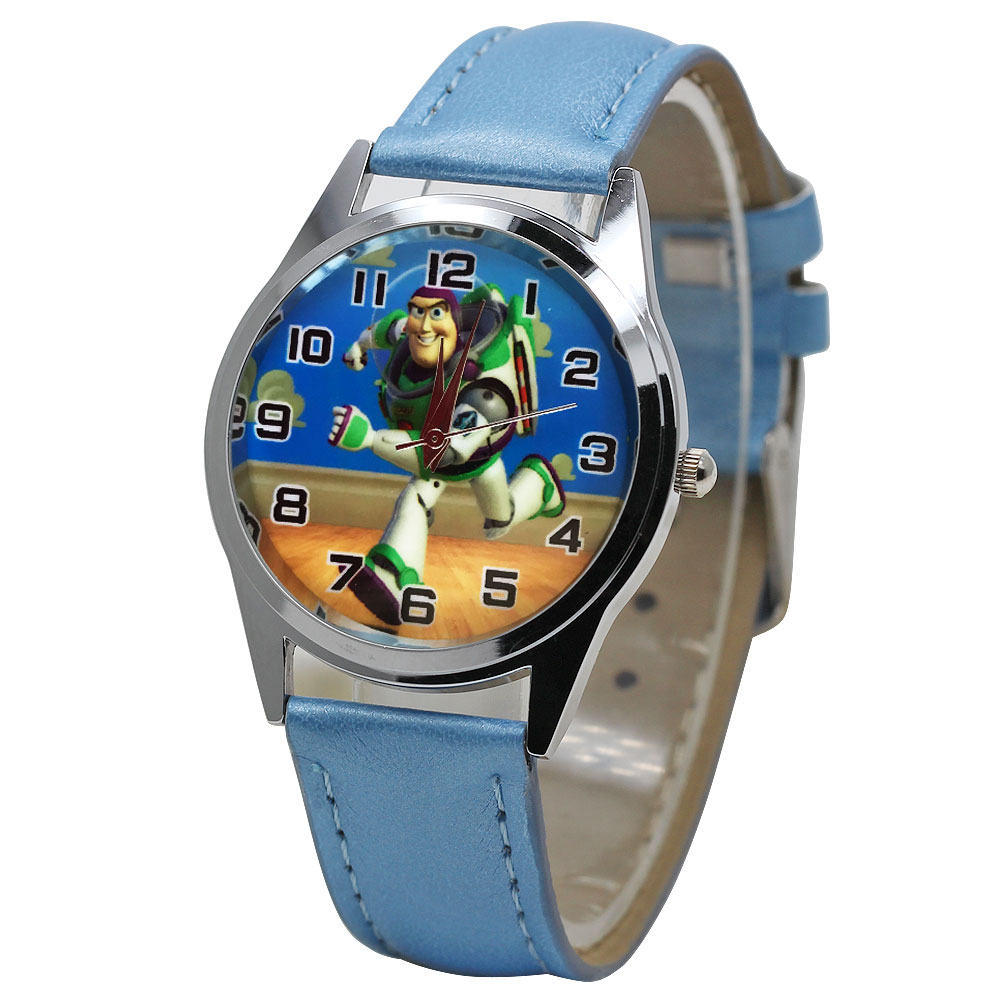 Cute Children's Watch 3D Cartoon Anime Boy Girl Fashion Quartz Sports Clock Casual Leather Watch Child Gift  Reloj