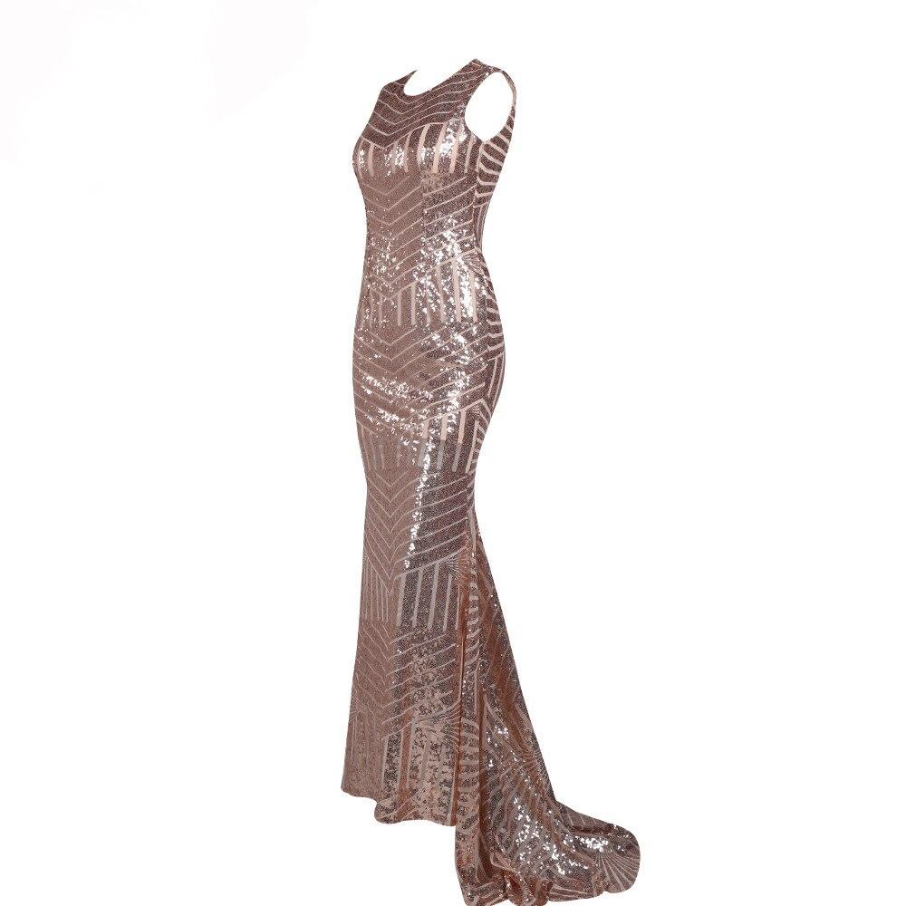2019-nouveau-Hot-femmes robe-Sexy-robe-élégant sexy pailleté tapis fête soirée soirée robe rayonne sans manches Vestidos