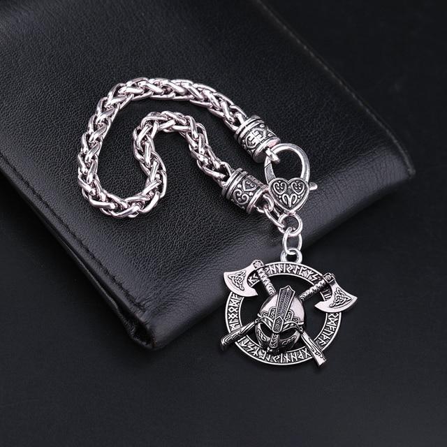 Bracelet casque Viking Odin  5
