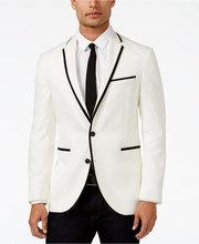 Latest Coat Pant Designs White font b Formal b font Trim Bridegroom Wedding font b Suits
