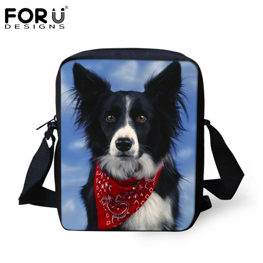 FORUDESIGNS/женская маленькая сумка через плечо с объемным рисунком собаки чихуахуа, модные женские сумки-мессенджеры, сумки через плечо - Цвет: H803E