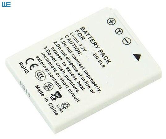 Nueva Batería para NIKON Coolpix P1 Coolpix P2 Coolpix S1 EN-EL8 Li-Ion stock de la UE
