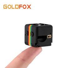 Goldfox Novo SQ11 Mini HD Câmera Filmadora HD Night Vision Camera Mini 1080 P Esportes Mini DV Gravador De Vídeo Voz