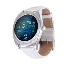 K89 Mode-stil SmartWatch LeatherTrack Armband MTK2502 Bluetooth Pulsmesser Schrittzähler Dialing Für Android IOS