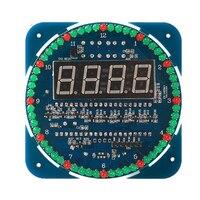 Модуль цифрового светодиодного дисплея DS1302, вращающиеся электронные часы с будильником, светодиодный дисплей температуры, обучающая доска...