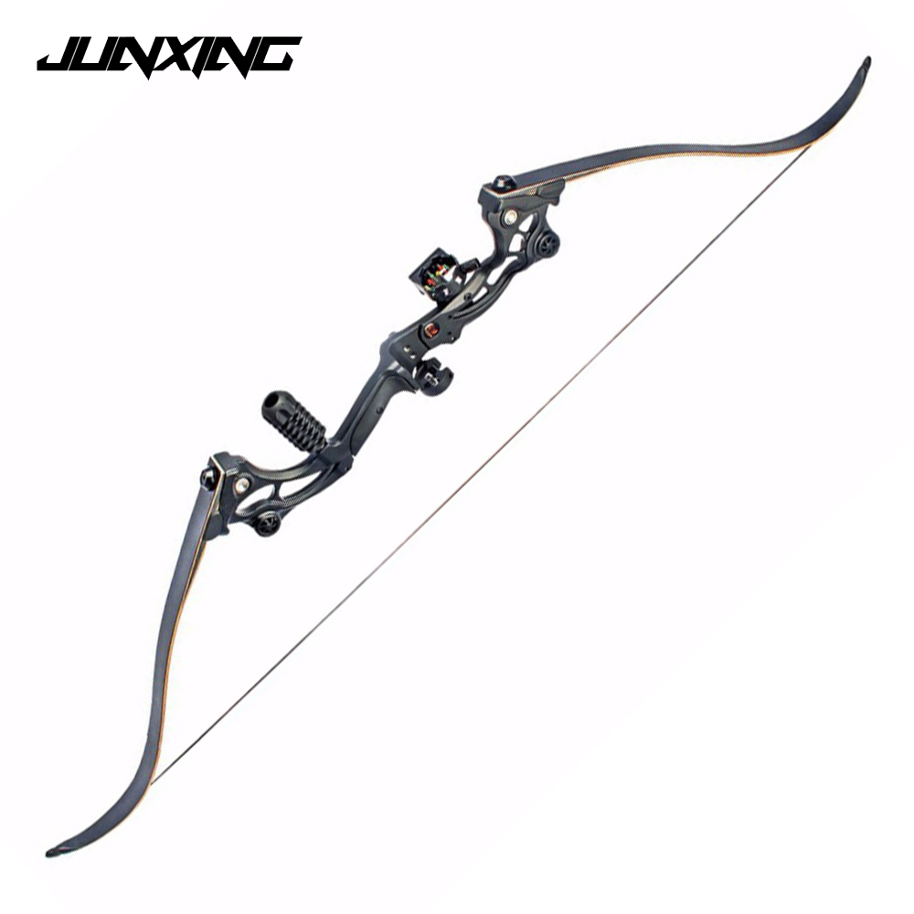 1 Pair 30-50 Lbs Mixed Material Bow Limbs Black Color For F163 DIY Bow Archery Hunting Shooting