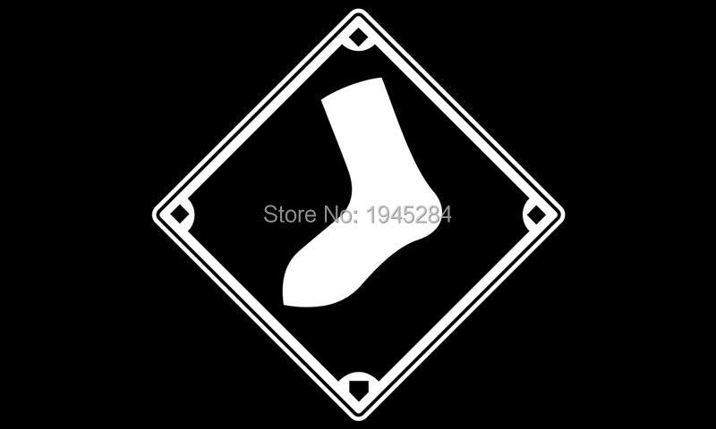 MLB Chicago White Sox баннер, флаг Вентиляторы флаг 3x5ft 90x150 см Новые полиэстер 8804, бесплатная доставка