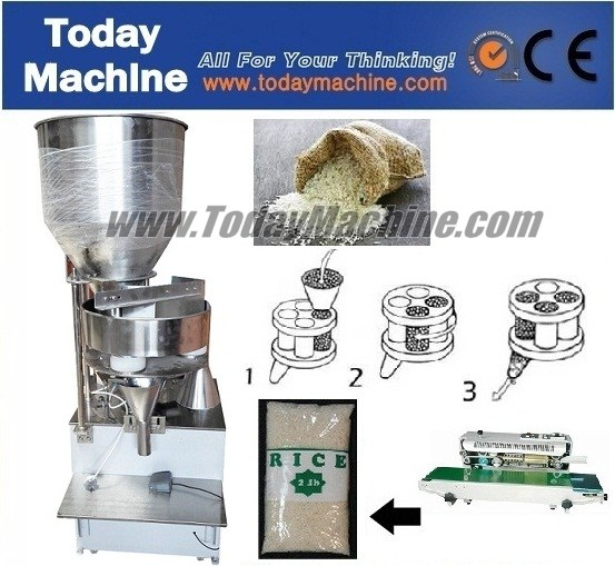 Automatic Granule/Coffee Weigh and Fill Machine