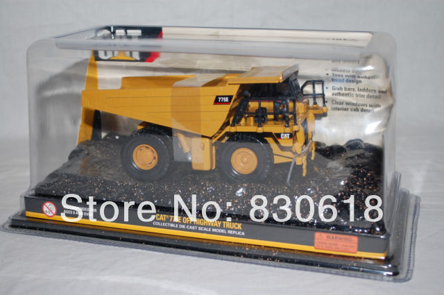 Norscot 55301 Cat 775E Off Highway Truck 1:64 scale Construction vehicles toy