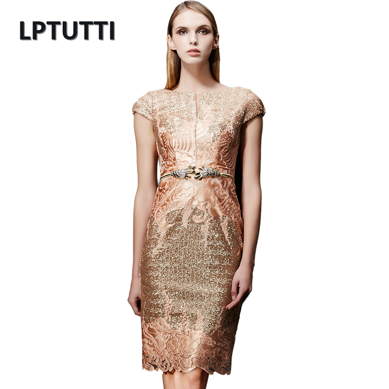 LPTUTTI Embroidery Sequin New Woman Social Festive Elegant Formal Prom Party Gowns Fancy Short Luxury   Cocktail     Dresses   16