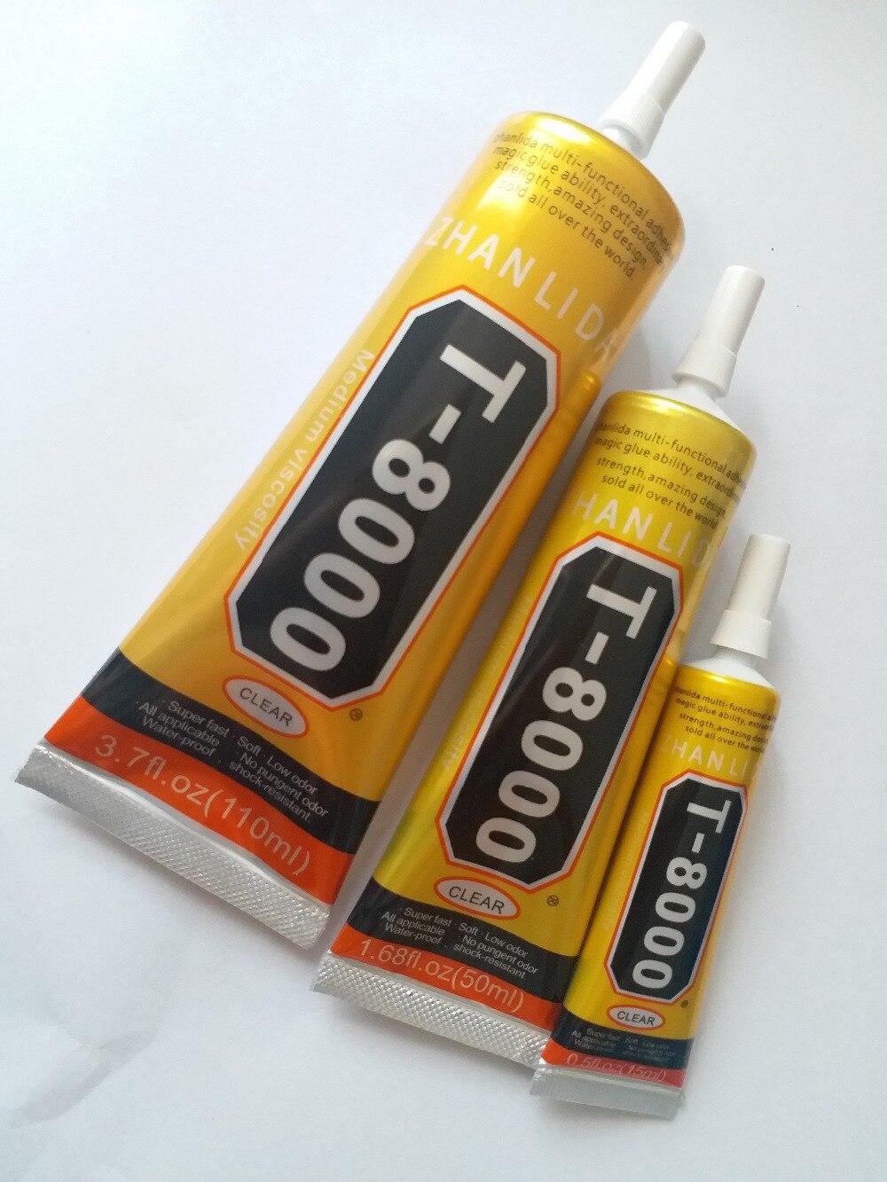 110ml 50ml 15ml T8000 Epoxy Resin  Multi Purpose LED Phone Screen Shell Repair Liquid Glue DIY Tools Better Than B 7000 Sticky|tool diy|tool tooltool led - AliExpress
