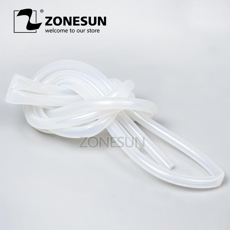 ZONESUN Length 2m Inside Diameter 7mm Round Tube Connect To Filling Machine Plastic Pipe For Electric Filling MachineZONESUN Length 2m Inside Diameter 7mm Round Tube Connect To Filling Machine Plastic Pipe For Electric Filling Machine