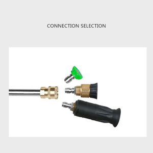 Image 4 - High Pressure Washers Metal Jet Lance GUTTER CLEANING WAND with Quick Nozzle Tip for G1/4 Car Washer