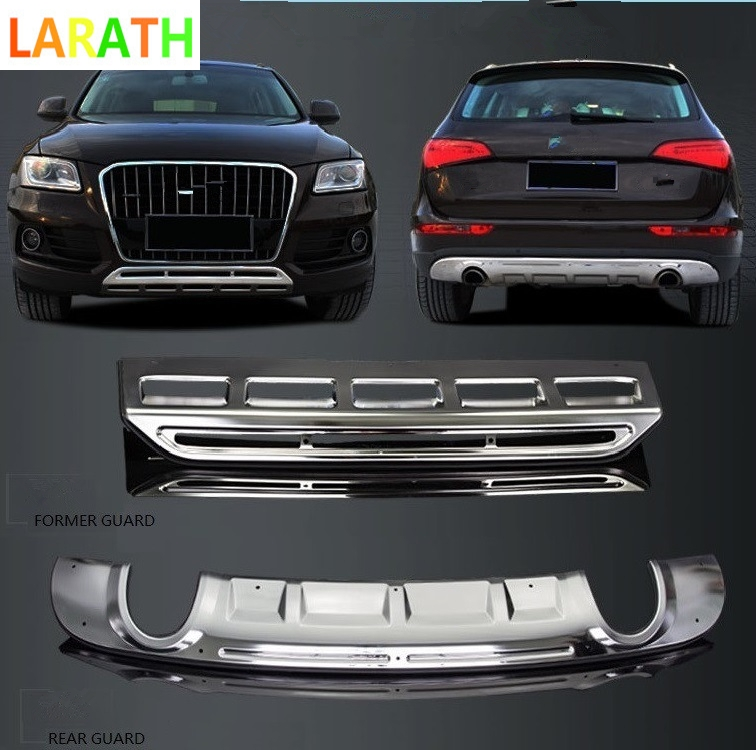 For AUDI Q5 2013 2017 Stainless Front & Rear Bumper