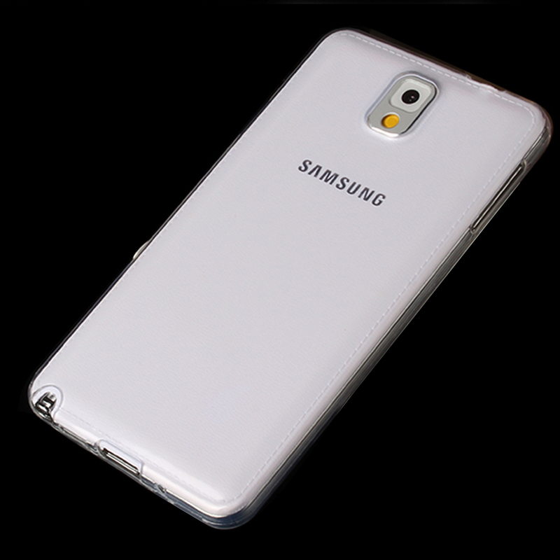 <font><b>Cover</b></font> for <font><b>Samsung</b></font> Note 3 Case Clear TPU Silicone Fundas for <font><b>Samsung</b></font> Galaxy Note3 Note 2 4 5 8 <font><b>Back</b></font> <font><b>Cover</b></font> Transparent Coque Capa image