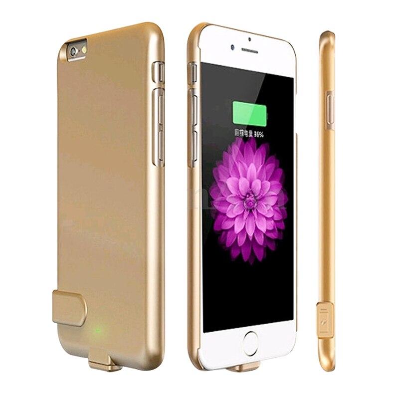 bilder für 1500 mah Wiederaufladbare Externe Unterstützungsbatterie Energienbank Fall Abdeckung für iPhone 6 6 s Handy Ladegerät Fall