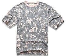 New Brand Men T Shirt Camo Sport t shirt Short Sleeve Tactical t-shirt Outdoor T-Shirt Running