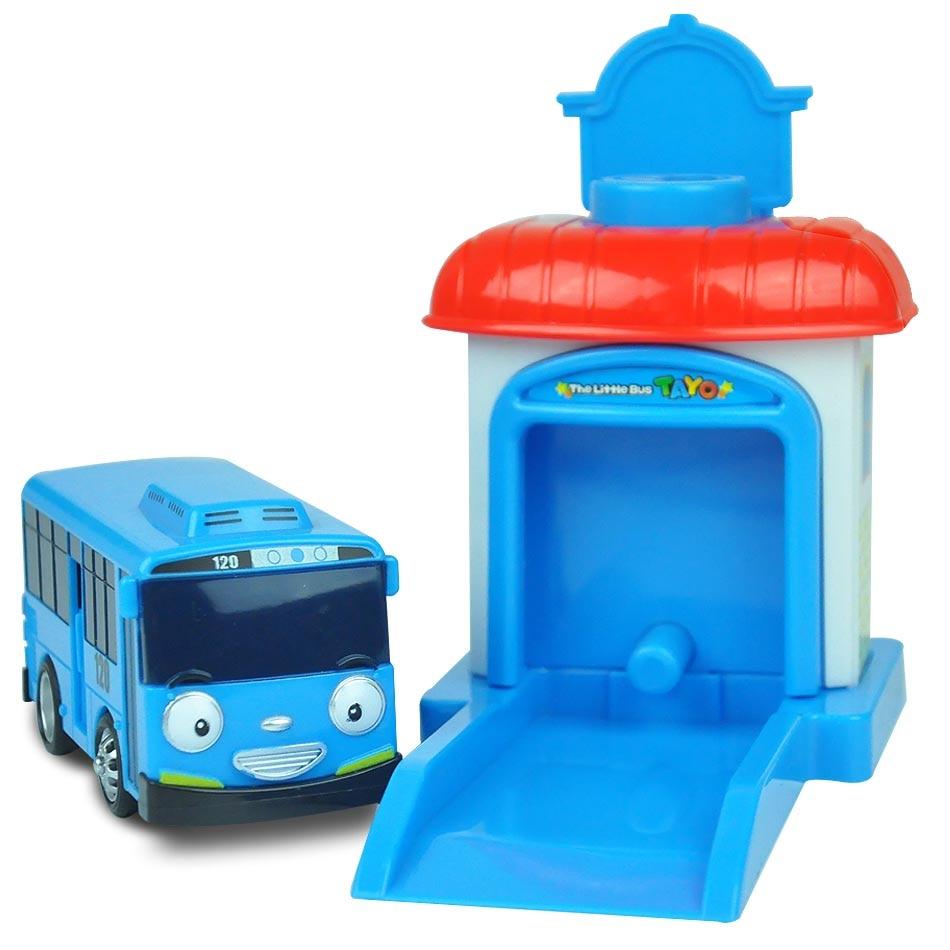 4pcs Set Scale Model Tayo The Little Bus Children Miniature Mainan Garasi 1 4 Pcs Plastic Baby Oyuncak Garage Kids Toys Christmas Gift In Diecasts Toy Vehicles
