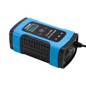 Image 5 - 12V 6A Motorrad Auto Batterie Ladegerät Alle Intelligente Reparatur Blei Säure Lagerung Ladegerät Universal Ladegerät Voll Automatische Ladegerät