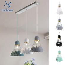 Buy kids lamp shades and get free shipping on aliexpress baoblaze chandelier modern novelty badminton hanging iron lamp shade children s room aloadofball Images