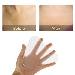 Reusable Anti Wrinkle Chest Pad Silicone Clear Neck Chest Wrinkles Removal Patch Face Skin Care Anti Aging Lifting Chest Pads