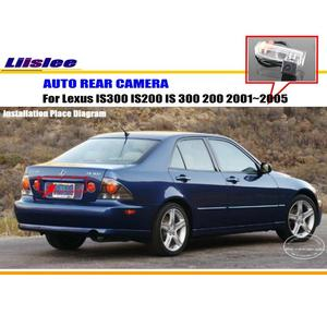 Liislee Rear Camera / Backup Parking Camera For Lexus IS300 IS200 IS 300 200 2001~2005 License Plate Light CAM / Night Vision