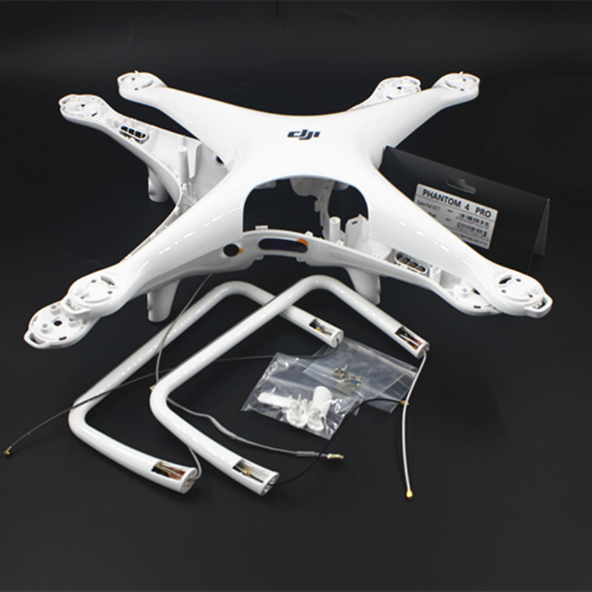 100 Original DJI Phantom 4 Pro Body Upper Shell Middle Shell Landing Gear For Phontom4 Pro