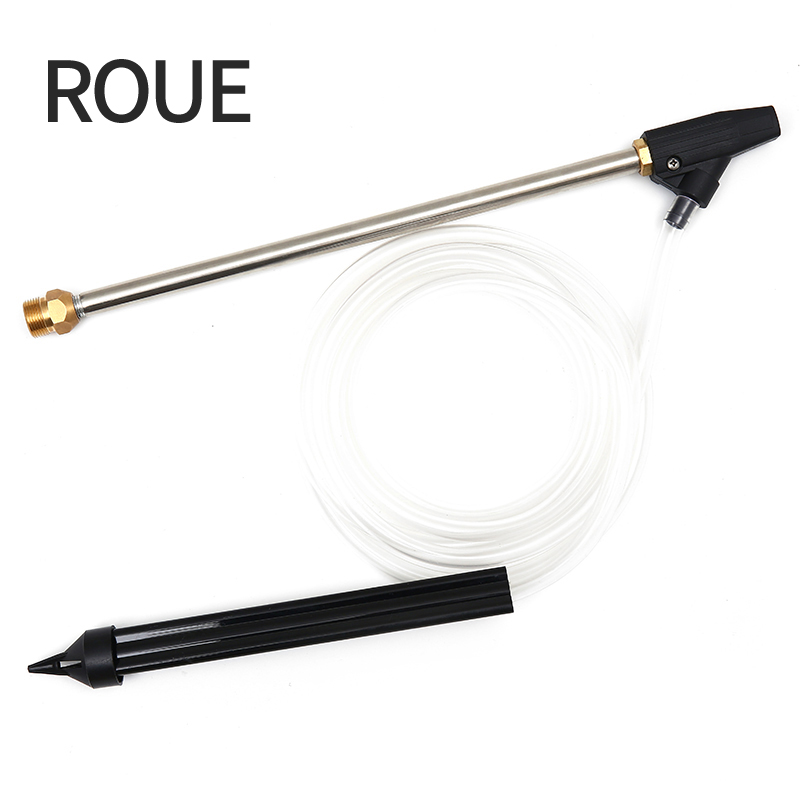 ROUE Sand And Wet Blasting Kit Hose Quick Connect With Pressure Washer With Ceramic Nozzle Wash Gun M22*1.5 14mm roue sand and wet blasting kit hose with high quality of and wet of karcher gun suit for k1 k9 with ceramic nozzle cw025 a