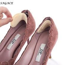 SAGACE Shoes Insole Women Girls Lady 10cm Silicone 1Pair High Heel Foam Gel Heel Cushion  Insole Cushion Foot Care Shoe Insert