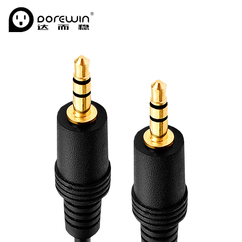 Dorewin Jack 3.5 AUX wire 3.5mm headphone Extension Cord Male to ...