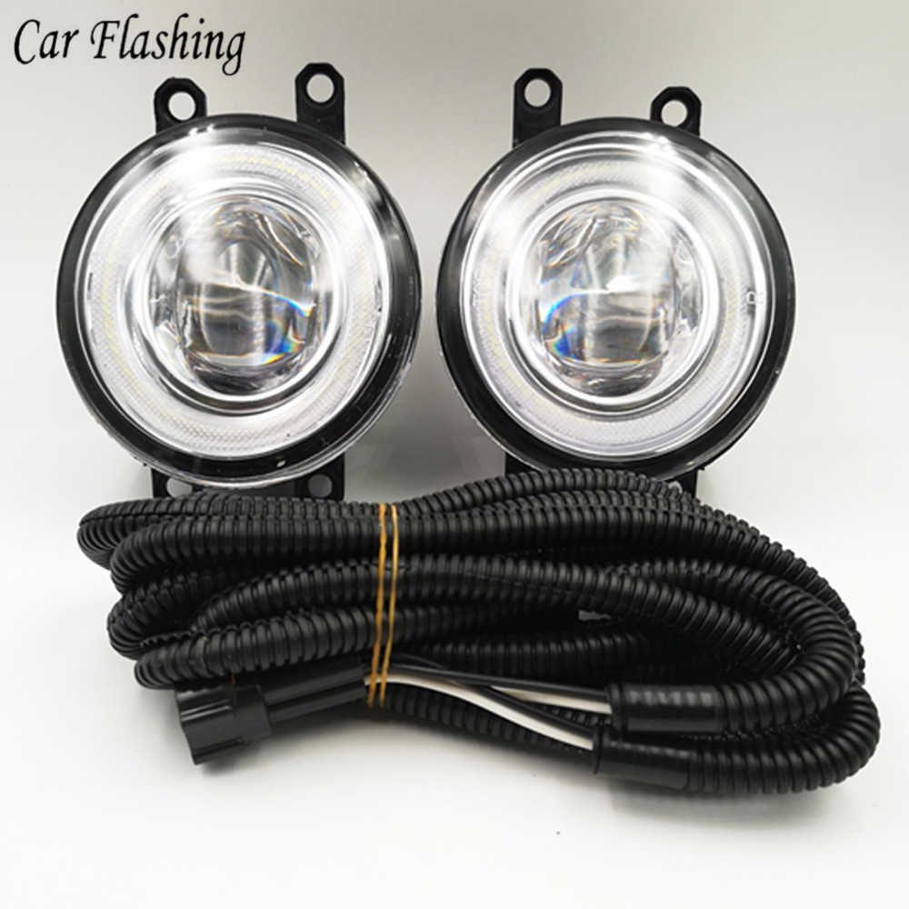 small resolution of detail feedback questions about car flashing 1set pair 12v car led high power led drl and fog lights with wiring and switch toyota aygo