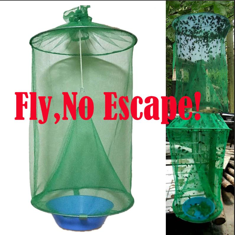 Ranch Fly Trap Made Fishing Apparatus With Food Bait Flay Catcher For Outdoor Farm Perfect  Garden Tool Pest Bug Catch