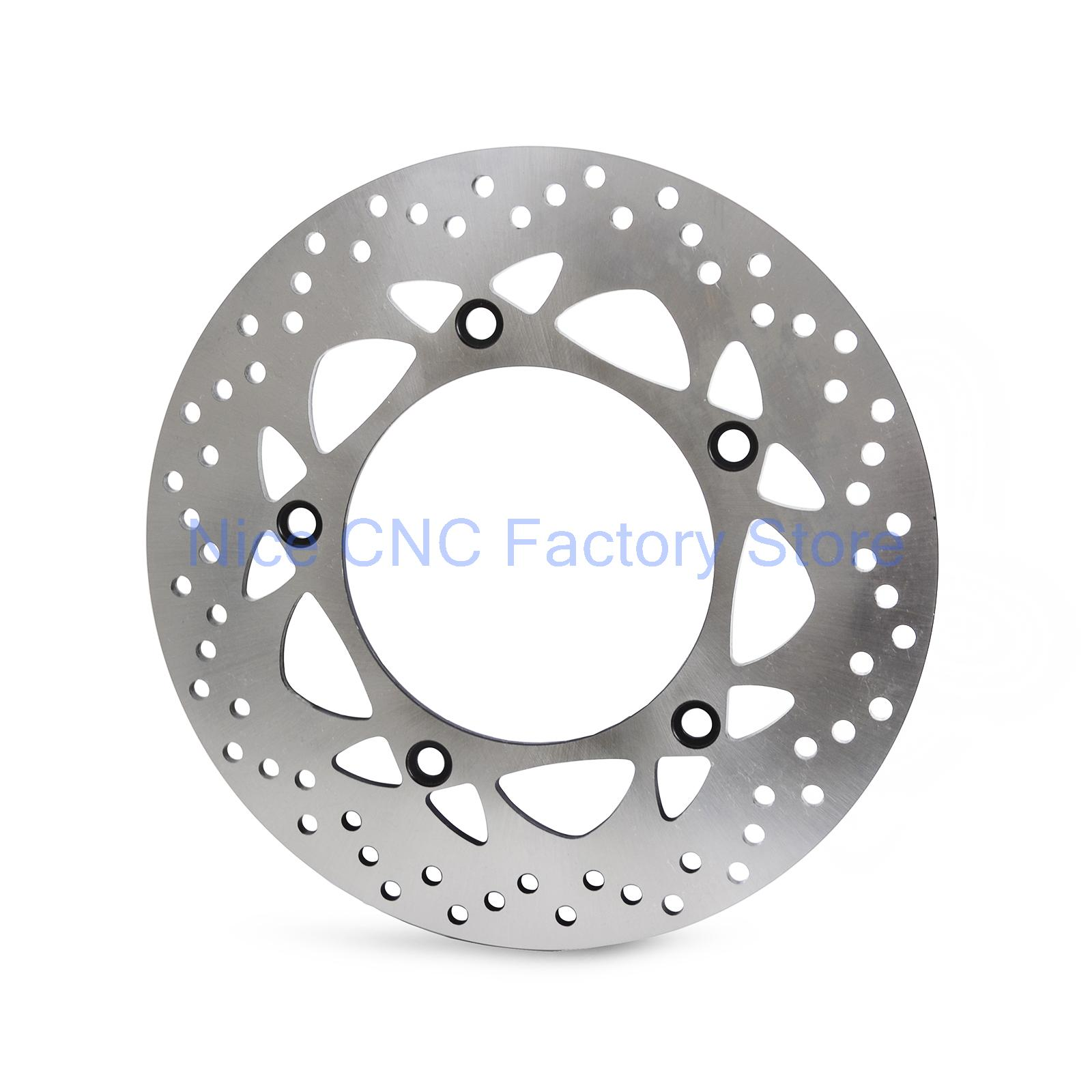 Motorcycle Rear Brake Disc Rotor For Yamaha T-Max530 Tmax530 2015 T-Max500 Tmax500 2012 -2014 XP500 XP 500 2013 2014 keoghs motorcycle brake disc brake rotor floating 260mm 82mm diameter cnc for yamaha scooter bws cygnus front disc replace