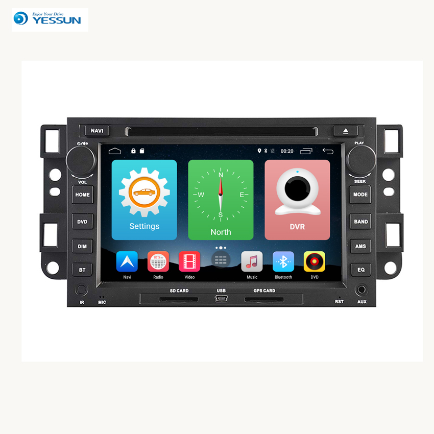 Yessun For Chevrolet Captiva 2006~2011 Android Car Navigation GPS HD Touch Screen Multimedia Stereo Player Audio Video Radio.