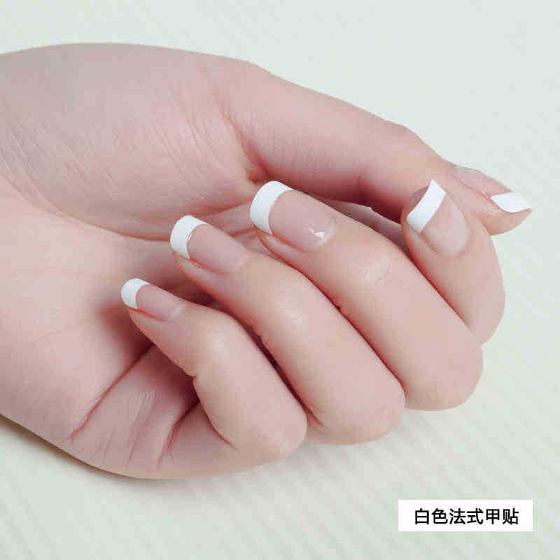 Online Shop 500Pcs/Pack French False Nails False Acrylic Nail Art ...