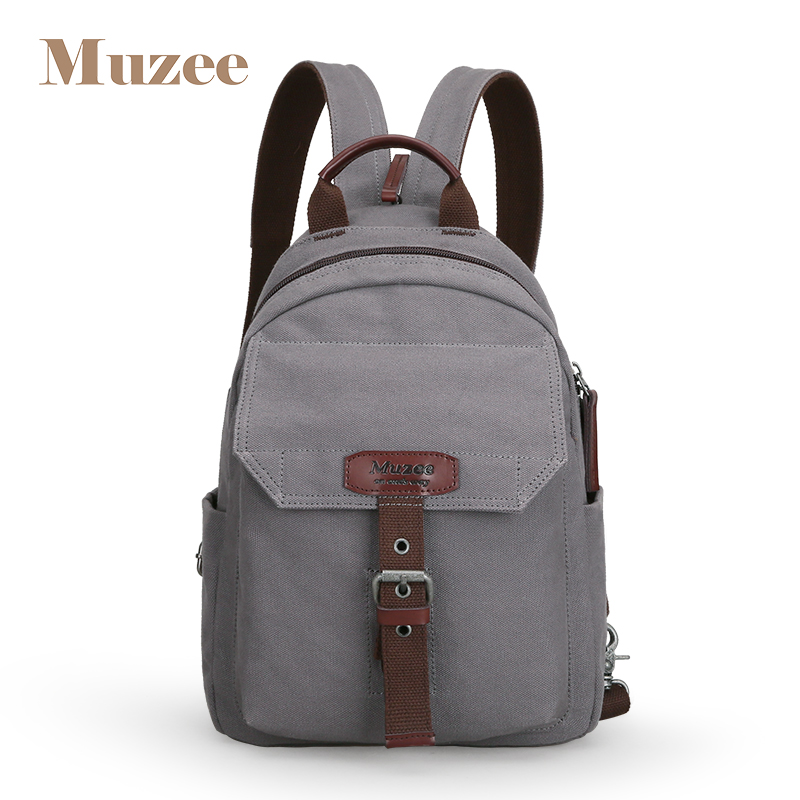 Men's Bags Muzee New Fashion Backpack Women And Men Backpack Canvas Men And Women High Capacity Crossbody Bag Luggage & Bags