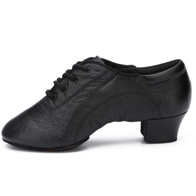 Chaussures en cuir balle de sport effectuer des chaussures latines homme fond souple femme adulte deux semelles chaussures de danse de salon Ventilation mâle