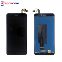 DHL 10PCS LCD Frame For Xiaomi Redmi Note 4X LCD Display Screen For Redmi Note 4