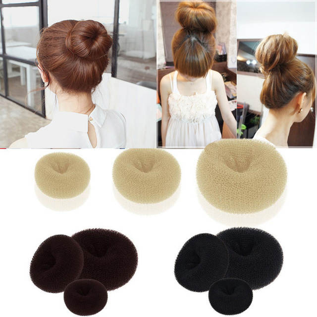 Girl Quick Messy Hairstyle 3 Colors And 3 Sizes Hairstyle Tool Magic