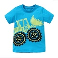 Retail T-shirts for Boys Neat Kid T-shirt Baby Roupa Infantil T Shirt Child Summer Cartoon Clothes Boys Top Baby T Shirts AB5079