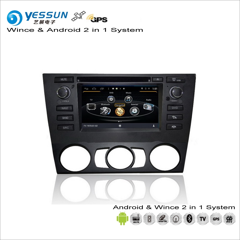 YESSUN For BMW M5 E90 E91 E92 E93 Manual AC Car Android Multimedia Radio CD  DVD Player GPS Navigation Audio Video Stereo S160-in Car Multimedia Player  from ...