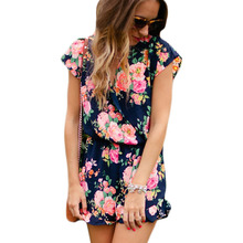 138996d37a95 Buy navy floral jumpsuit and get free shipping on AliExpress.com