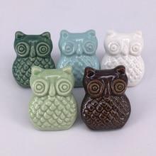 Furniture Ceramic Owl Dresser